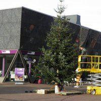 Kerstboom op het Raadhuisplein
