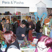 Pera en Pasha op de Crea Doe in Utrecht