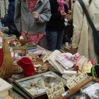 Jaarlijkse bazaar in De Acker