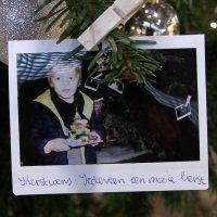 Kerstboom in Emerald vol Kerstwensen
