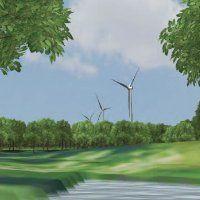 Windmolens moeten nog meer het Balijbos in