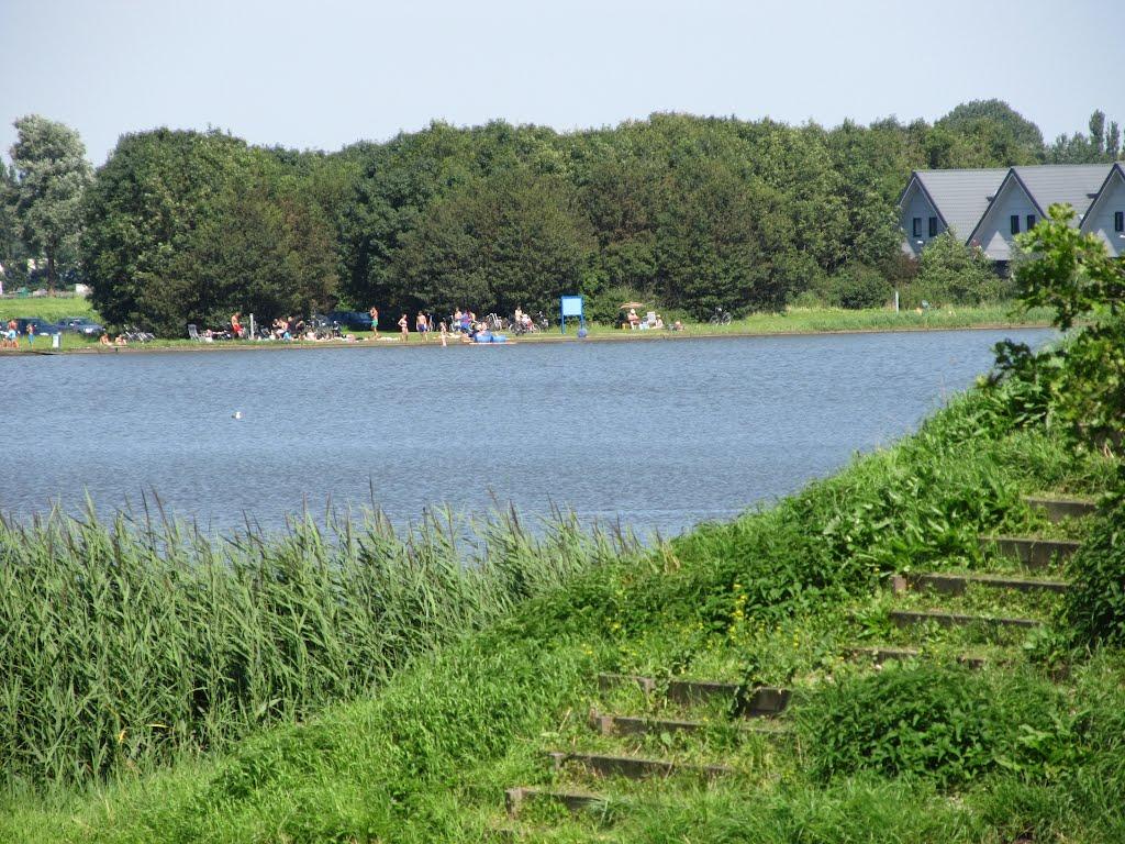 Rode bulten na zwemmen in de Dobbeplas