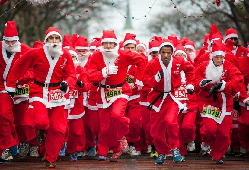 Santa Run: 5 kilometer kan ook