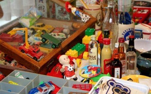Speelgoedbeurs bij Harlekino