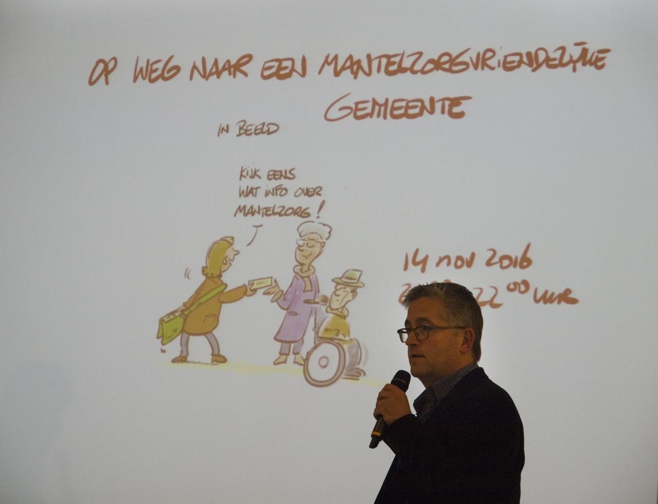 Cartoonist Kurf bracht het probleem treffend in beeld.