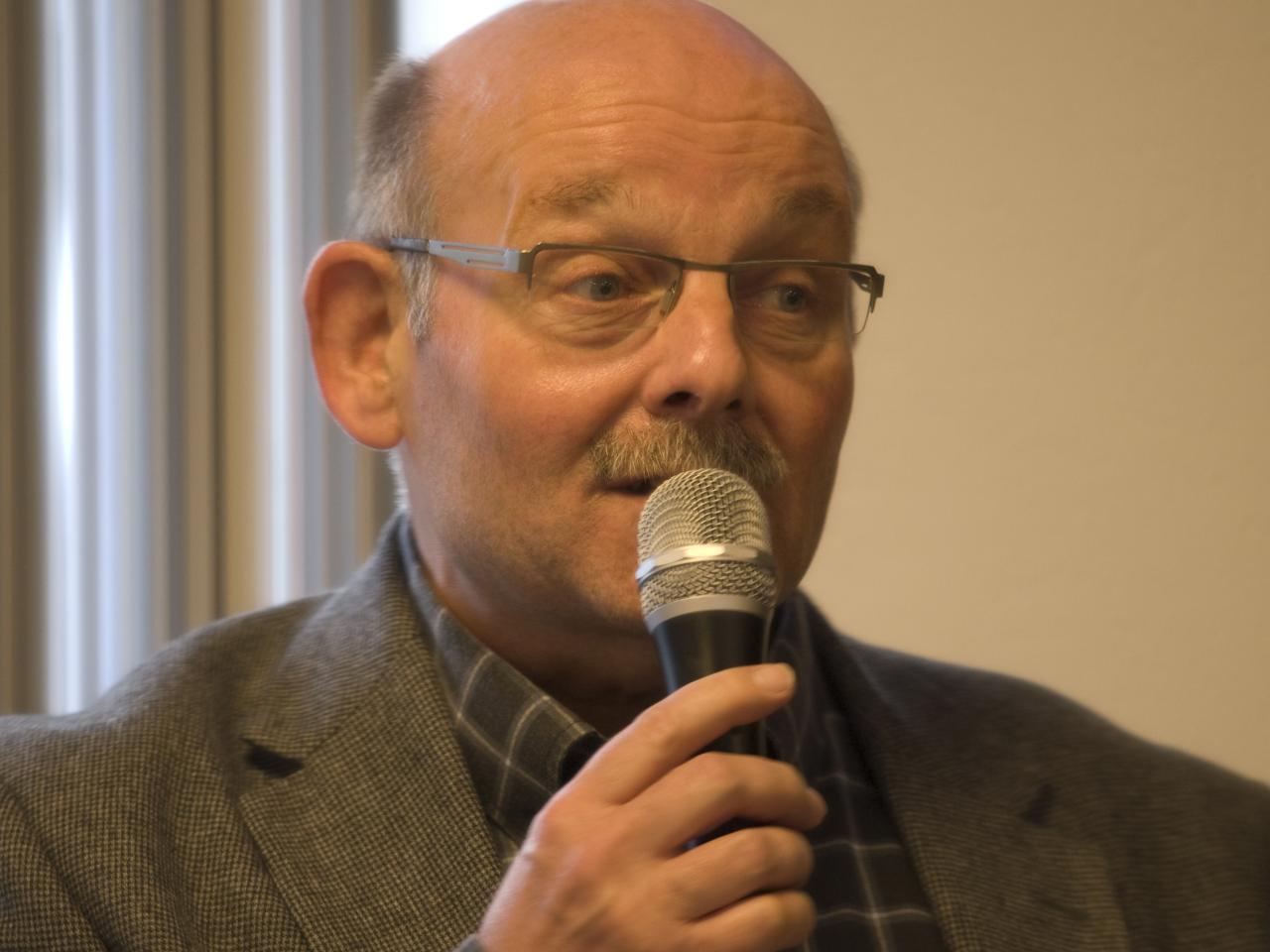Directeur Harry Keuter van de SWOP