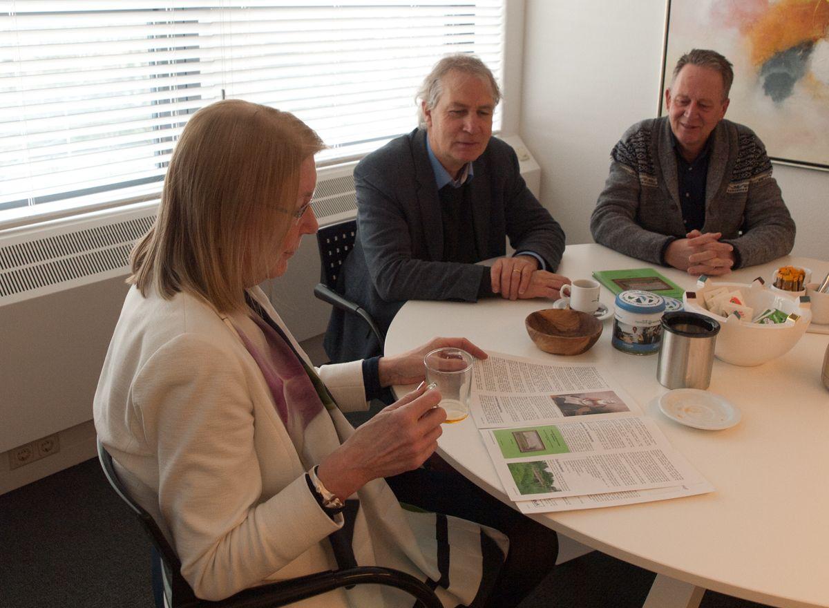 Ook eerdere auteurs waren bij de presentatie van het boek aanwezig.