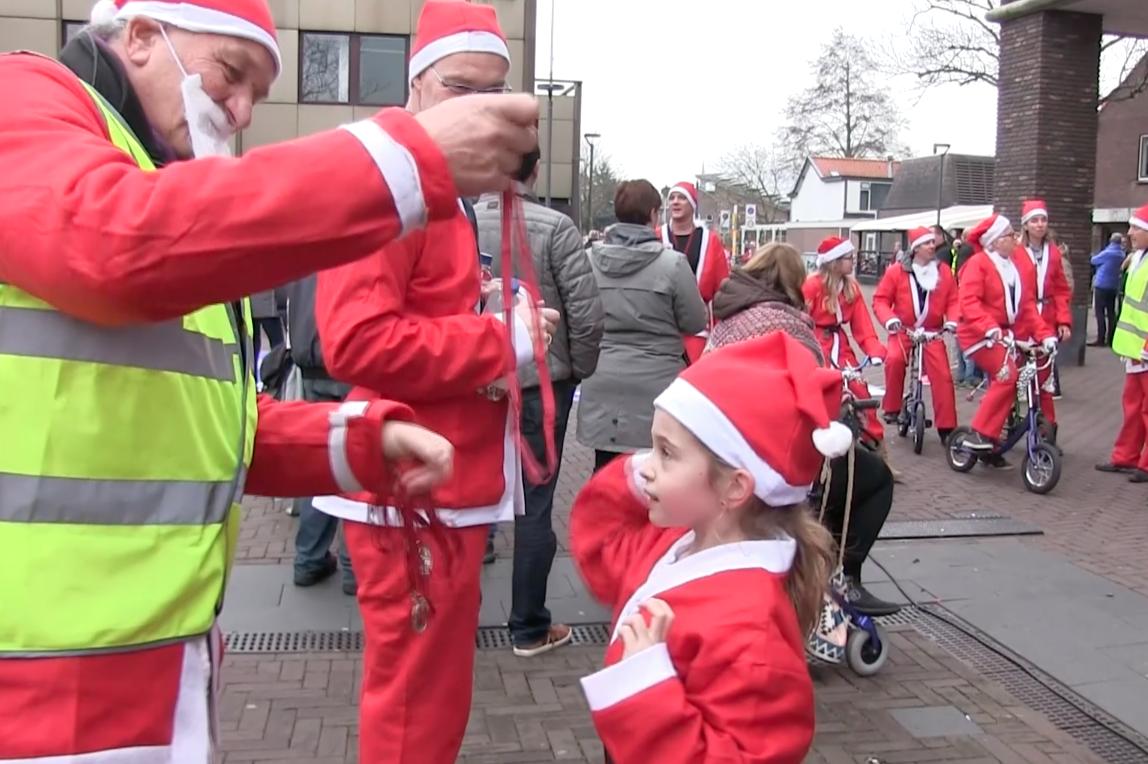 Santa Run levert 7750 euro op