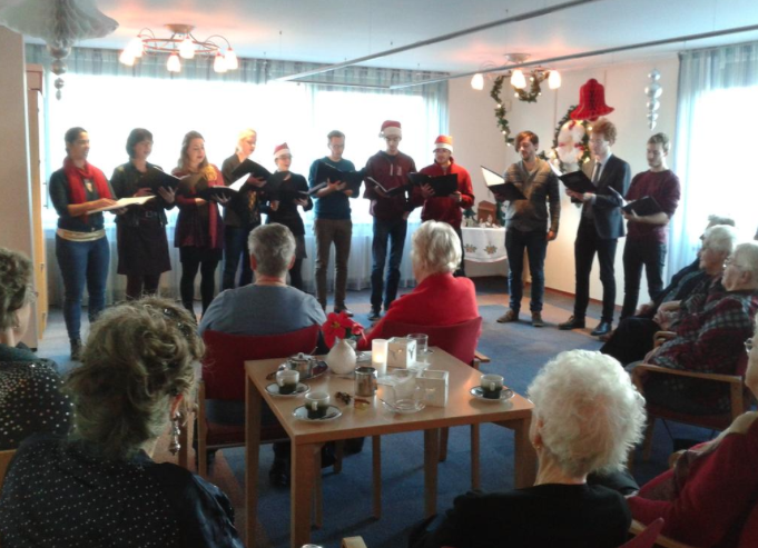 Kerstprogramma's welzijnscentra druk bezocht