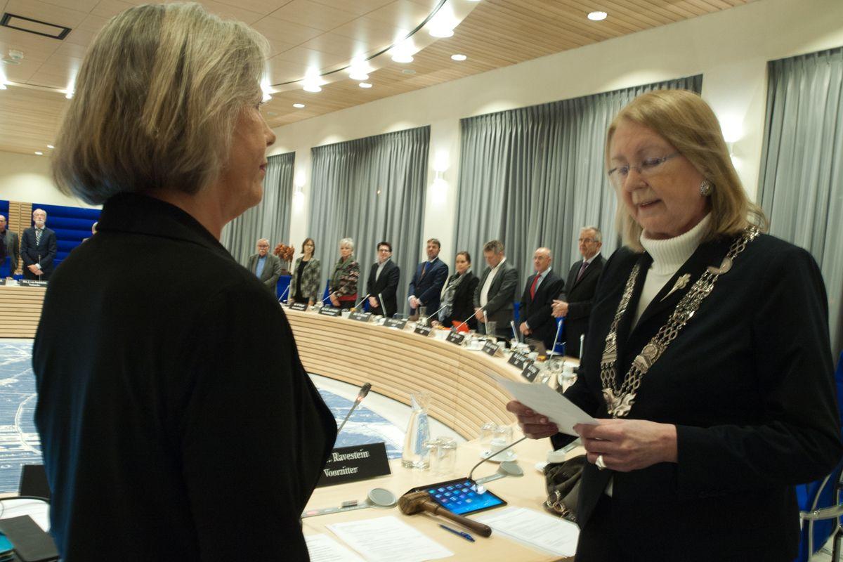 Jolanda van Leeuwen beëdigd als raadslid