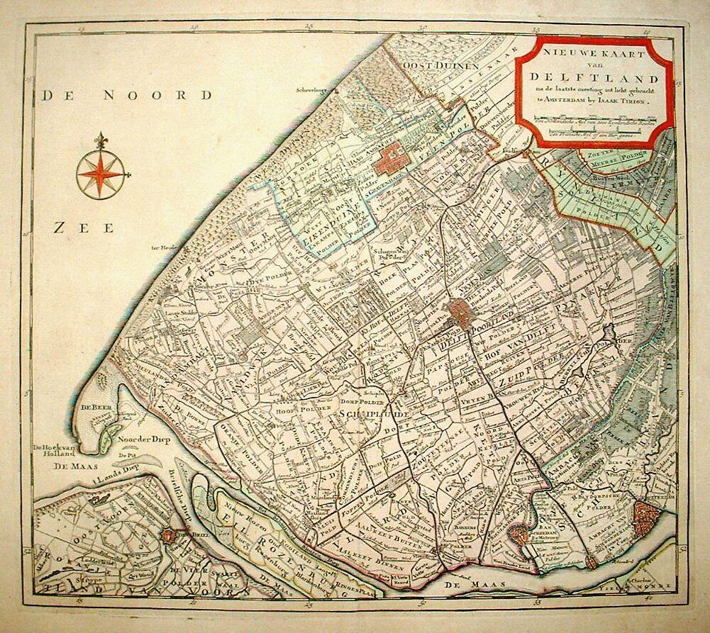 Cursus over het landschap van Delfland
