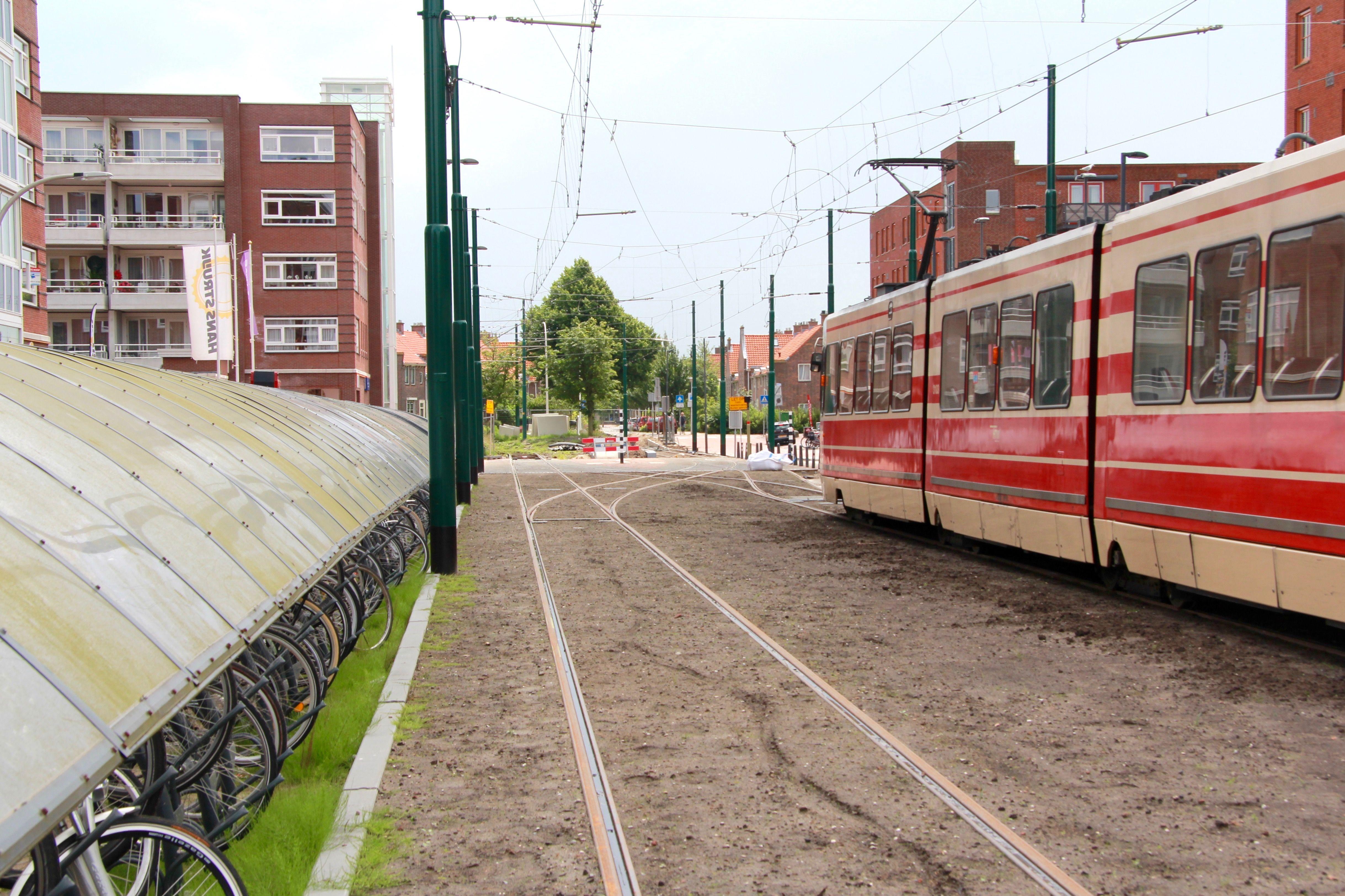 Paar weken vertraging bij eindpunt tramlijn 15 in Nootdorp