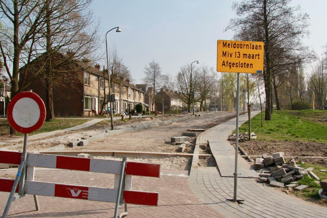 Gemeente: Nog geen beeld over afronden werk in Heesterbuurt