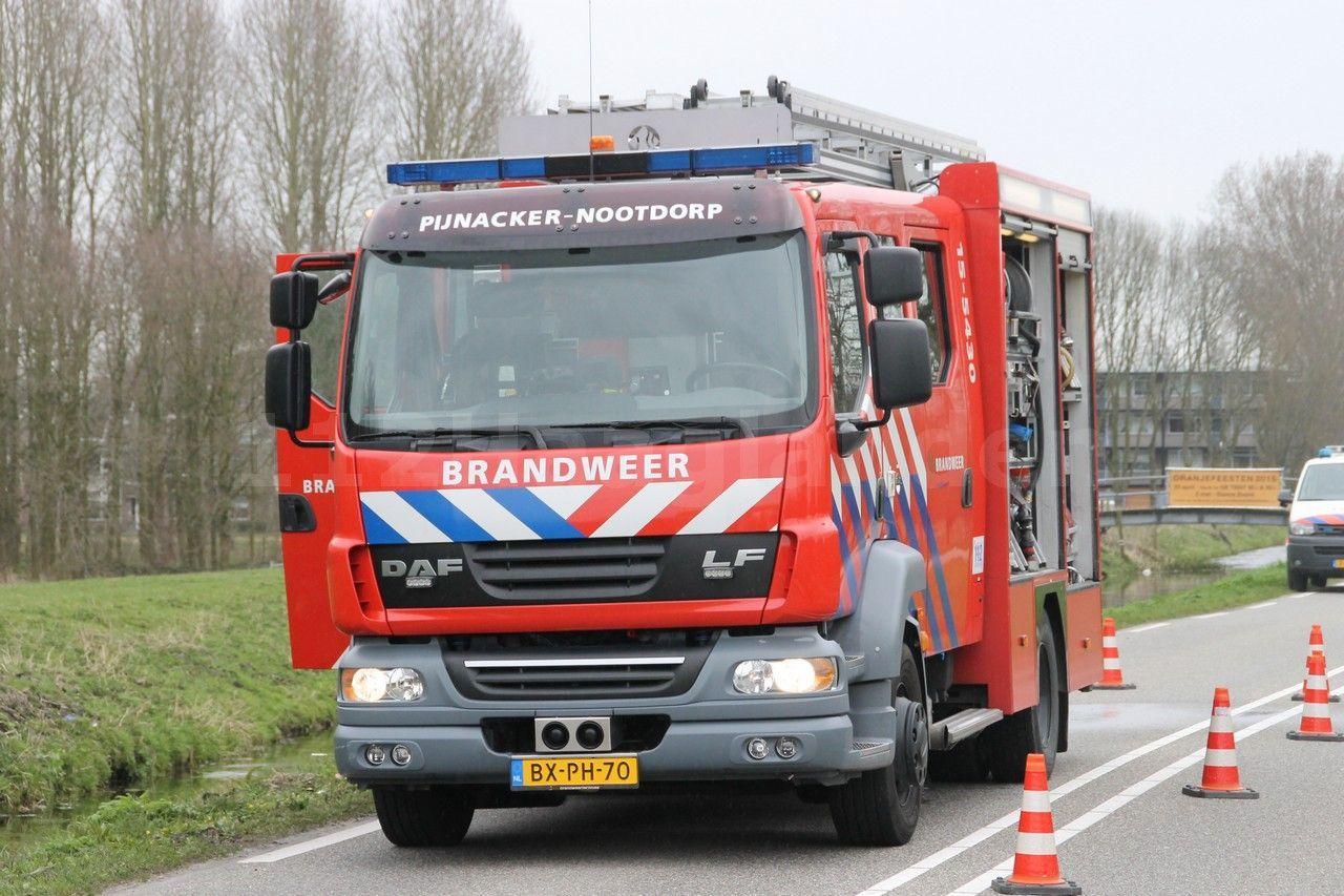 Grote brand aan Bieslandseweg Delfgauw