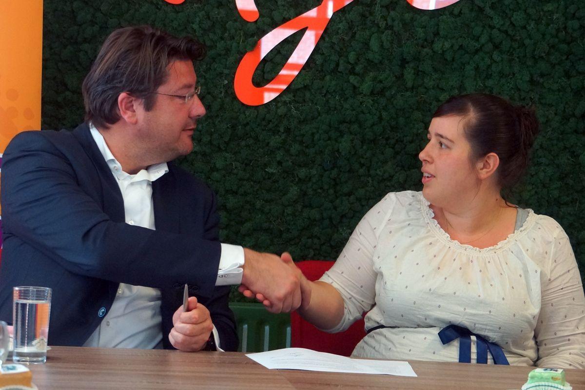 Minderhoud sluit nieuwe overeenkomst met Team4Talent