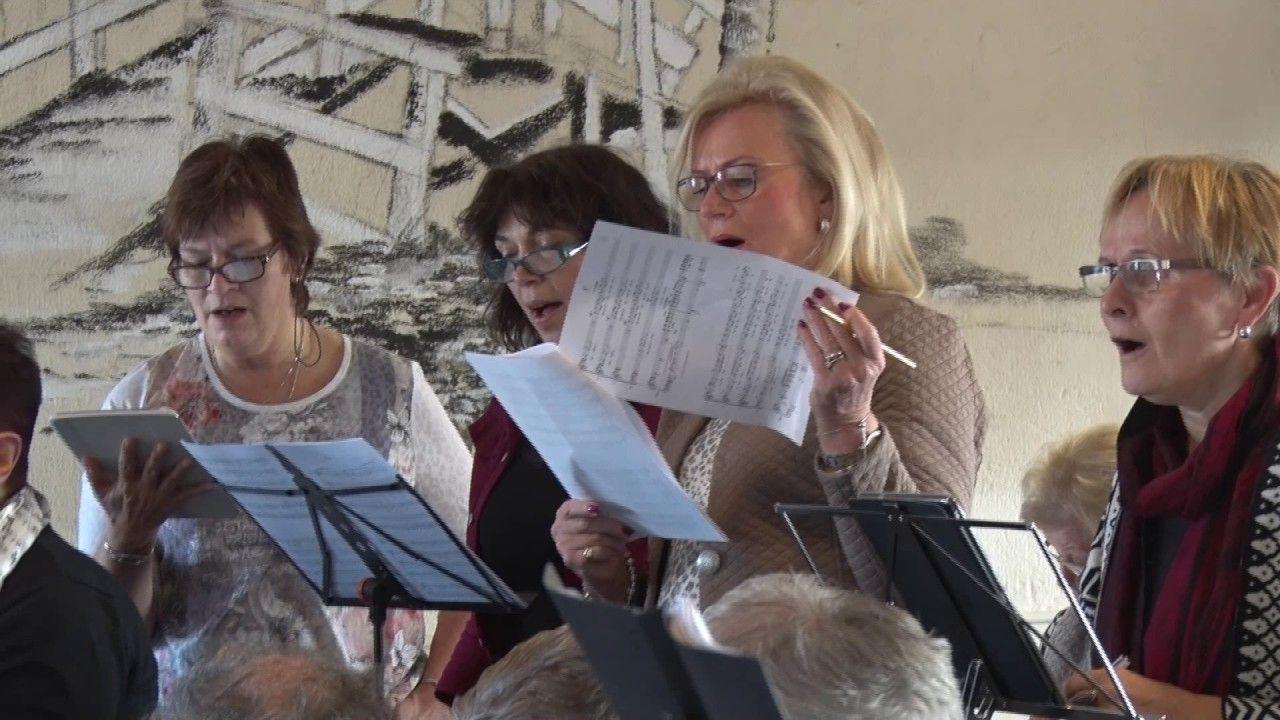 Cantores Amadores zingen in Bartholomeuskerk in Nootdorp