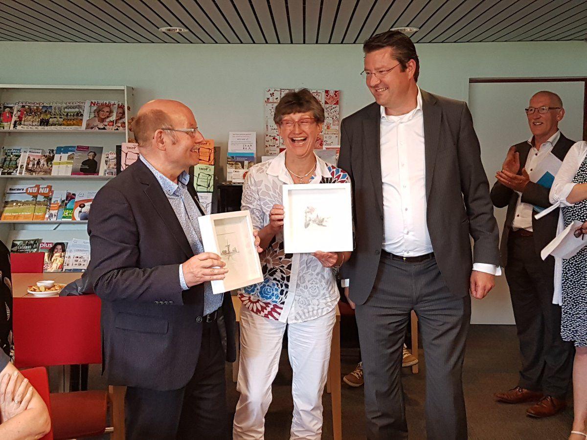 Afscheid van Harry Keuter en Janneke Bakker