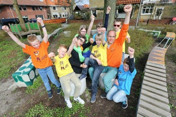 St. Josephschool doet mee aan loterij voor Jantje Beton