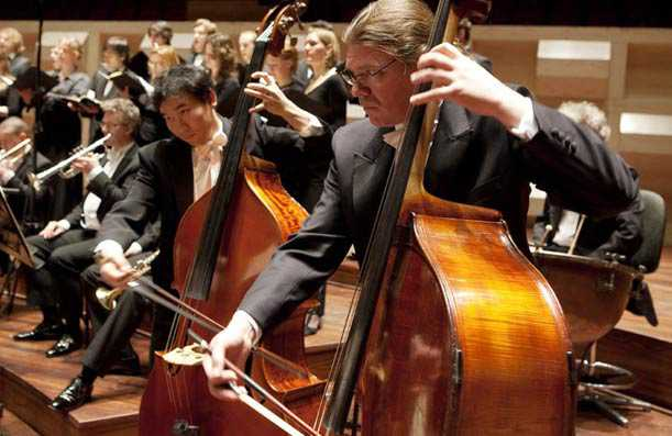 Klassiek concert in koeientuin van Hoeve Biesland