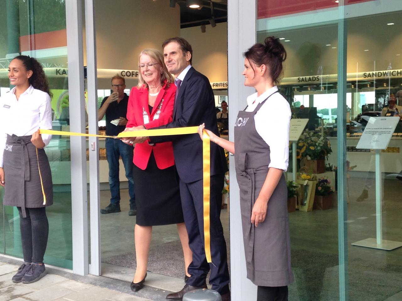 Nieuw foodconcept QICHI bij tankstation Esso Ruyven