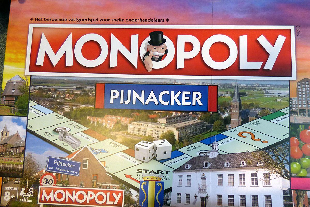Pijnackerse editie van Monopoly komt eraan