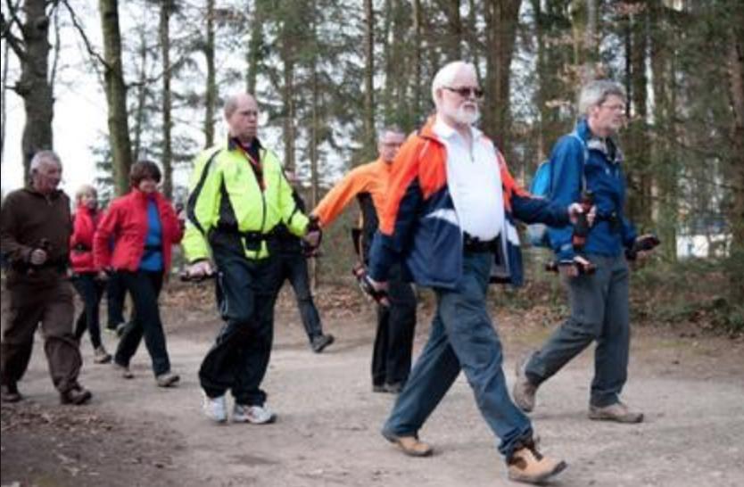 Wandeltocht voor senioren