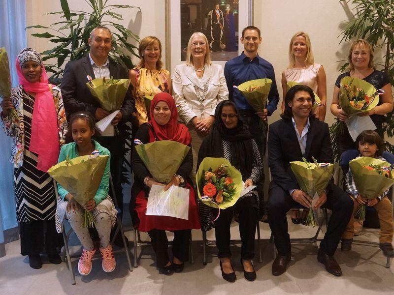 Elf nieuwe nederlanders