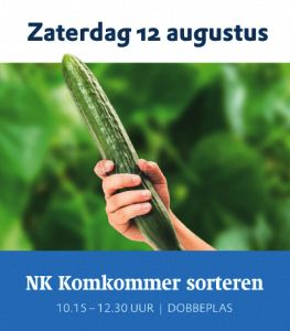 Komkommers sorteren in Nootdorp