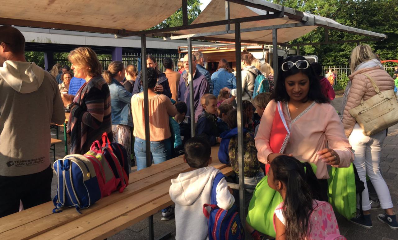 Kindcentrum Regenboog start schooljaar met koffie