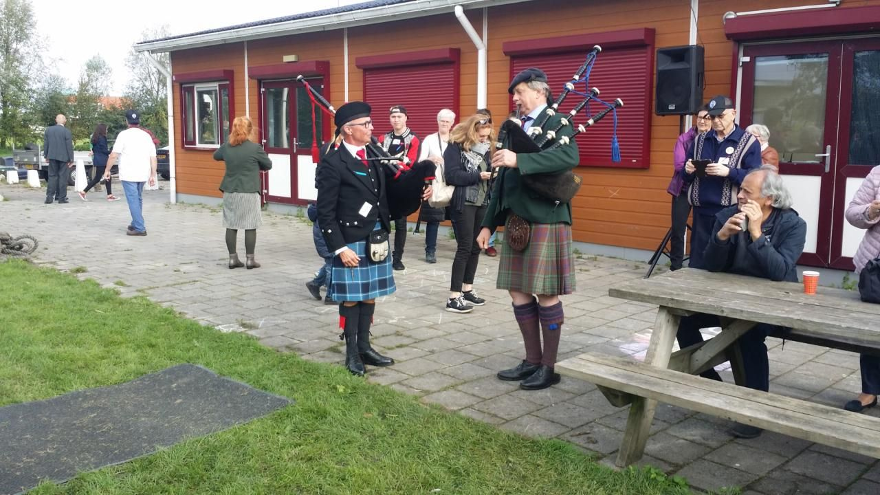 Highland games van Schotse Mac Gillavry-clan