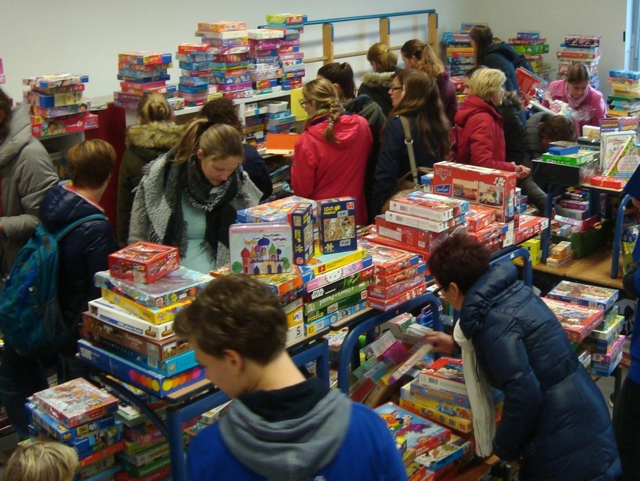 Harlekino organiseert speelgoedbeurs