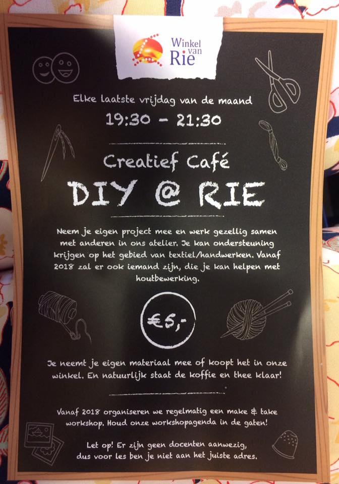 Creatief Café DIY @ RIE